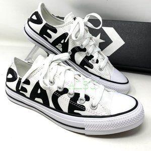 Converse Chuck Taylor All Star Peace White Black M